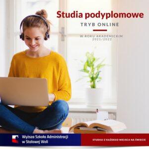 Studia podyplomowe ONLINE!